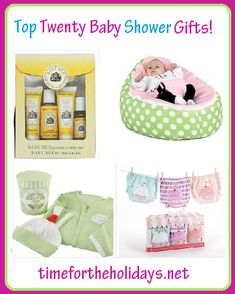 Top Baby Shower Gifts | Time for the Holidays