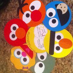 Sesame Street Birthday Invitations