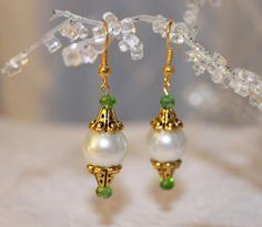 Christmas Holiday and Wedding Swarovski  Dangling by SUSANsBAUBLES, $24.00