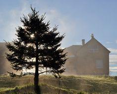 Quand le brouillard se lève chez-nous...