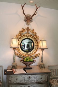 Entry vignette at Cashiers Designer Showhouse - Charles Faudree