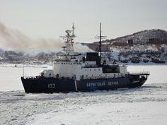Russian Coast Guard Project 97P Border Patrol Icebreaker Volga