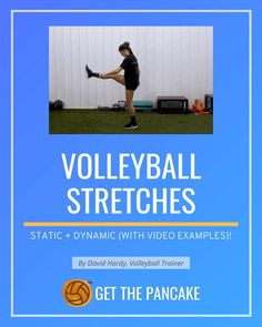 Volleyball Terms, Volleyball Drills For Beginners, Volleyball Gifs, Coaching Volleyball, Volleyball Players, Coaching Skills, Dynamic Stretching, Tight Hips, Back Muscles