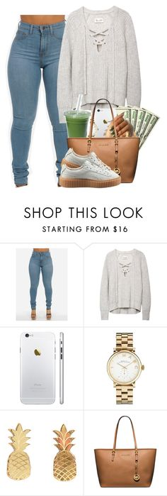 """""""2.27.16"""" by heavensincere ❤ liked on Polyvore featuring Marc by Marc Jacobs, Vinca, MICHAEL Michael Kors and Puma"""