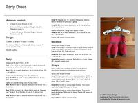 Ravelry: Baby Party Dress pattern by Alicia Bergin