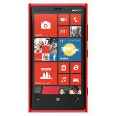 Nokia Lumia 920 Mobile Phone - Red