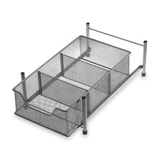 Simple Solutions Mesh Revolving Cabinet Organizer - Bed Bath ...
