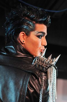 Adam Lambert and his frickin awesome hair!!!!!am I right?:)