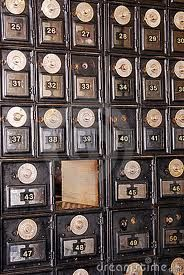 I Have To Find A Vintage Mailbox.This Is The Same Type Of Mailbox We Use To  Get Our Mail In At The Post Office