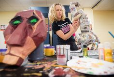 Forest Middle School students, educators bring 'Lion King Jr.' costumes to life - NewsAdvance.com : Lifestyle