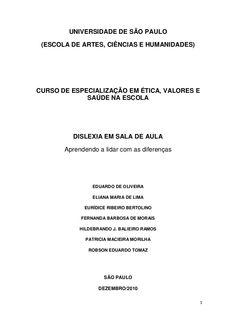 dislexia-ltima-verso-6304923 by Col�gio Parthenon via Slideshare
