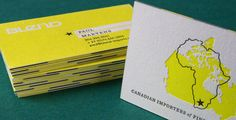 Image result for yellow letterpress