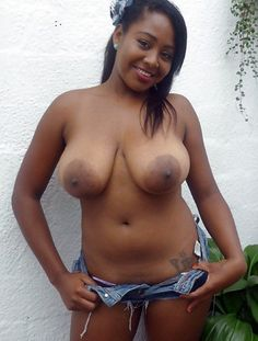 Big tit ebony girlfriend