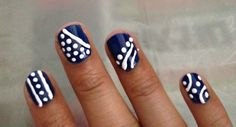 If you are looking for Easy Christmas Nail Art Designs For Beginners Step By…