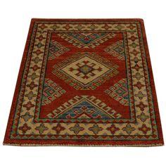 1800getarug Hand-knotted Design Kazak Oriental Area Rug