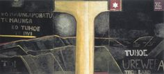 Urewera Mural, 1975. Colin McCahon.