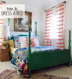 How to Dress a Bed | MakleyHome.com