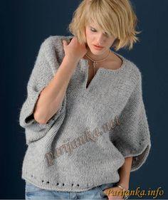 Пуловер-кимоно. Обсуждение на LiveInternet - Российский Сервис Онлайн-Дневников