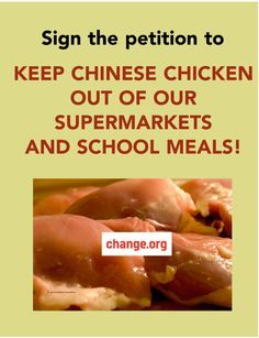 Some Promising Developments re: Chinese-Processed Chicken