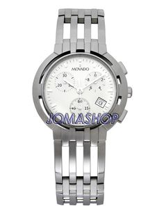 movado watch men s metio stainless steel bracelet 0606203 movado esperanza chrono mens watch 0605823this is an awesome watch