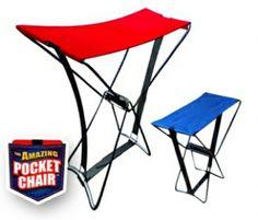Katlanabilir Portatif Tabure Pocket Chair