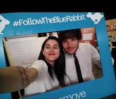 #Selfie en el #ZincShower15 #FollowTheBlueRabbit