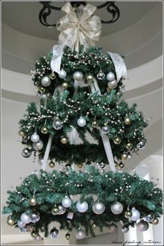 Hanging Christmas Tree / Wreath
