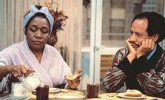 """Sherman Hemsley, known for his portrayal of George Jefferson on the sitcom """"All in the Family"""" and """"The Jeffersons,"""" above, with costar Isabel Sanford, died July He was 1970s Childhood, Childhood Memories, Sweet Memories, Sherman Hemsley, Black Sitcoms, Black Tv Shows, Celebrity Deaths, All In The Family, Old Shows"""