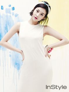 Oh Yeon Seo - InStyle Magazine April Issue '14