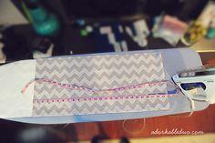diy easy to adjust modern pleat crib skirt - adorkableduo.com