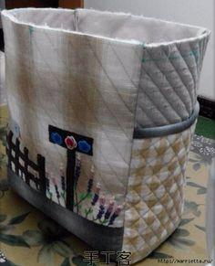 bolsa de retalhos com pássaro e lavanda.  Costure-se (7) (473x585, 150 KB)