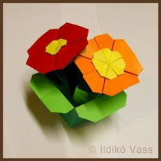 How an Origami Box Turned Into a Fun Festival of Flowers!