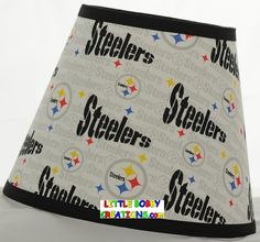 NFL Football Pittsburgh Steelers Fabric by LittleBobbyCreations