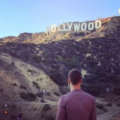 Awesome hike up to the world renowned Hollywood sign in Los Angeles California