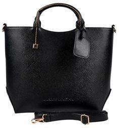 Eabag Womens Patent Leather Boutique Tote Bags Top Handle Handbag (Black) EABAG http://www.amazon.com/dp/B00KRVAUG6/ref=cm_sw_r_pi_dp_KvV9tb13BXA4C
