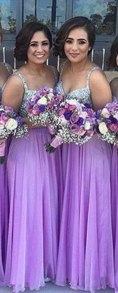 Lavender Bridesmaid Dress,Convertible Bridesmaid Dress, Sapghetti Straps Bridesmaid Dress,Sequin Bridesmaid Dress,Cheap Bridesmaid Dress,Chiffon Bridesmaid Dress,Wedding Party Dress