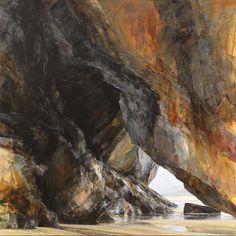 Sarah Adams, 'Carnewas, warm light', oil on linen, 120 x 120 cm