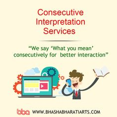 Let language not be a stumbling block in the progress of your meeting.   #interpretation #consecutive #consecutiveinterpretation