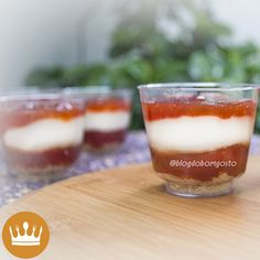'Romeu e Julieta': O AMOR em forma de doce! <3 Aprenda a fazer essa sobremesa clássica em copinhos, perfeitos para serem servidos em festas! A receita leva apenas 3 ingredientes e o tempo de preparo é de 5 minutos!