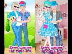 Frozen Elsa and Jack Become Parents - Frozen Games