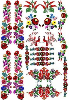 Embroidery Patterns Plants enough Embroidery Designs Coupon their Embroidery Designs Cross considering Embroidery Patterns Images a Hand Embroidery Patterns Geek Hungarian Tattoo, Hungarian Embroidery, Folk Embroidery, Brazilian Embroidery, Learn Embroidery, Embroidery Stitches, Embroidery Designs, Polish Folk Art, Scandinavian Folk Art