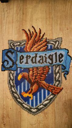 Perler Blason Serdaigle Ravenclaw's crest