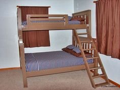 twin over full bed plans