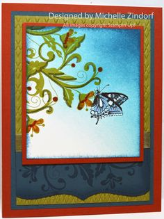 Butterfly & Vine – Stampin' Up! Card Tutorial #583 |