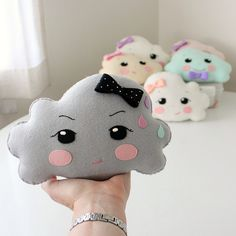 thunder cloud ► des coussins nuages arrivent bientôt sur generation-kawaii.com Cloud cushion coming soon!!!
