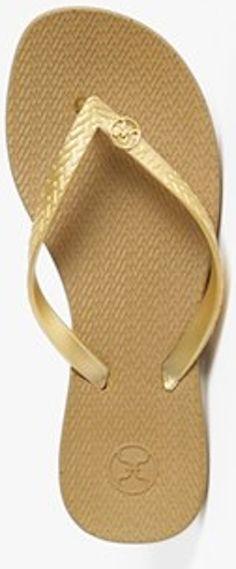a8c0a90566bb2a Gold flip flops http   rstyle.me n e63x9nyg6 Pantone Gold