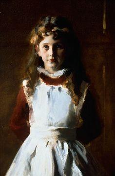 Фрагмент картины - The Daughters of Edward Darley Boit, John Singer Sargent, 1882 (unfree frame crop)