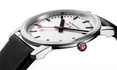 Mondaine Simply Elegant A672.30350.11SBB watch - Modern Watches from Watchismo.com