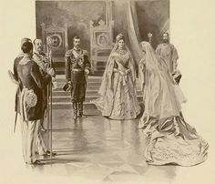 "The Coronation of Tsar Nicholas ll of Russia in 1896. ""AL"""