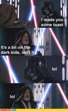 Little bit on the dark side